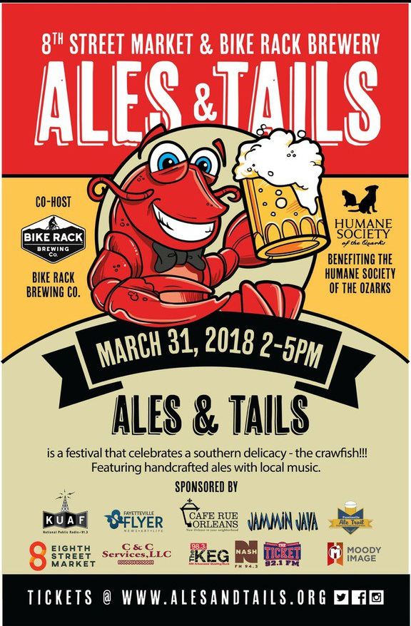 ales and tails bville flier