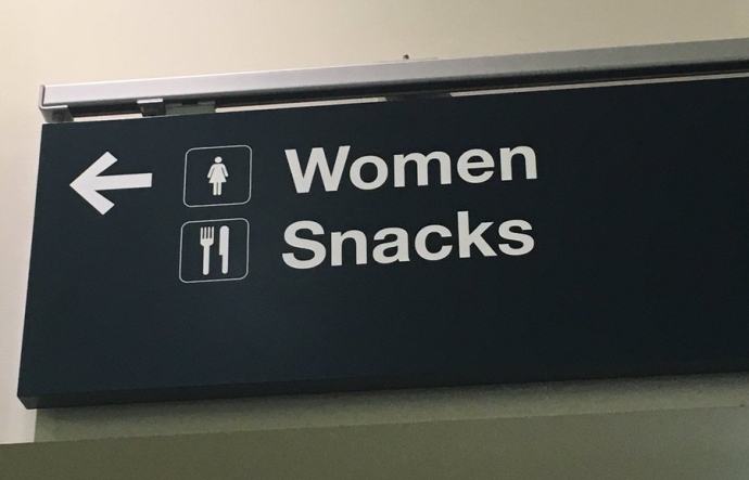 women are snacks